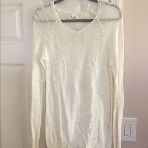 NWT beige tunic sweater